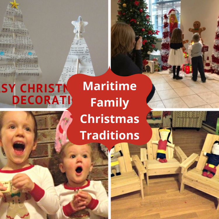 Maritime Family Christmas Traditions with Little Kids