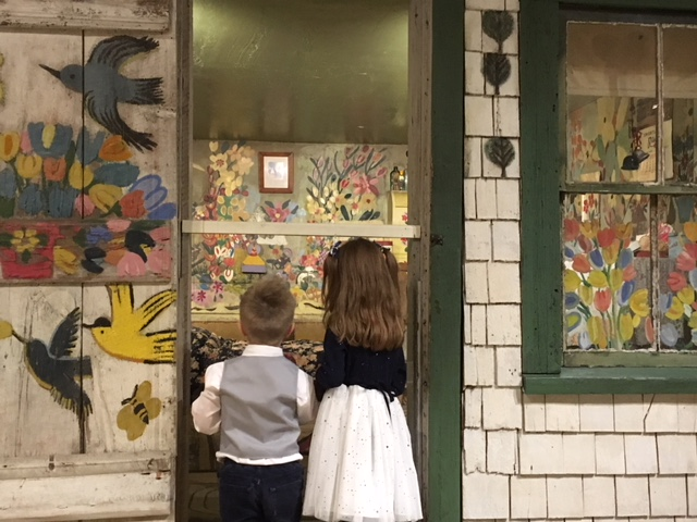 Peering inside Maud Lewis' actual home at the Art Gallery of Nova Scotia