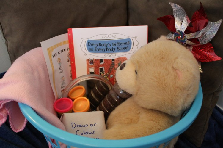 How to Create a Feeling Box, inspired by EveryBody's Different on EveryBody Street
